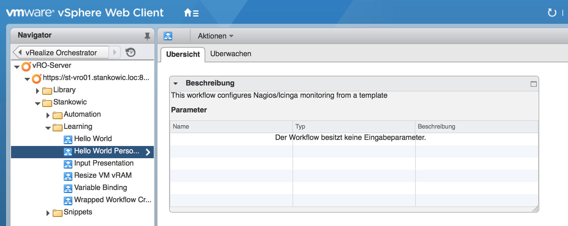 vRealize Orchestrator for beginners, part 1: Introduction